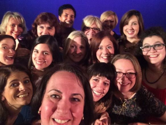 We even took an Oscar-selfie. Don't we look like besties?